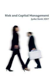 Risk and Capital Management 2007 [PDF] - Jyske Bank