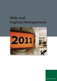 Risk and Capital Management 2011 [PDF] - Jyske Bank