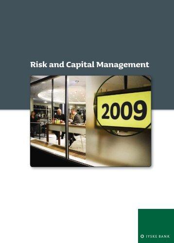 Risk and Capital Management 2009 [PDF] - Jyske Bank