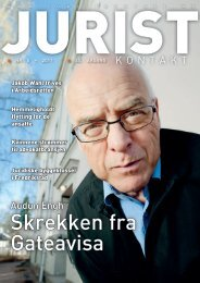 Juristkontakt 5 • 2011