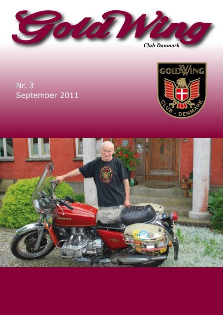 Nr. 3 September 2011 - GoldWing Club Danmark