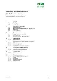 Generelle betingelser - Assure A/S