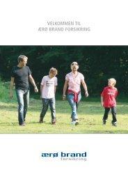 VELKOMMEN TIL ÆRØ BRAND FORSIKRING - Concordia Forsikring