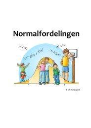 Normalfordelingen - matematikfysik