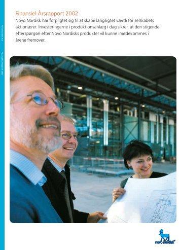 Finansiel Årsrapport 2002 - Novo Nordisk