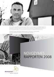 velkommen til novozymes rapporten 2008