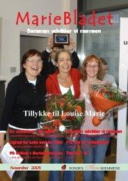 MarieBladet November 2005 - Mariehjemmene