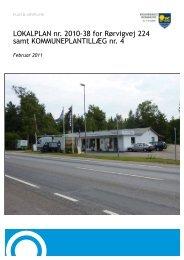 LOKALPLAN nr. 2010-38 for Rørvigvej 224 samt ...