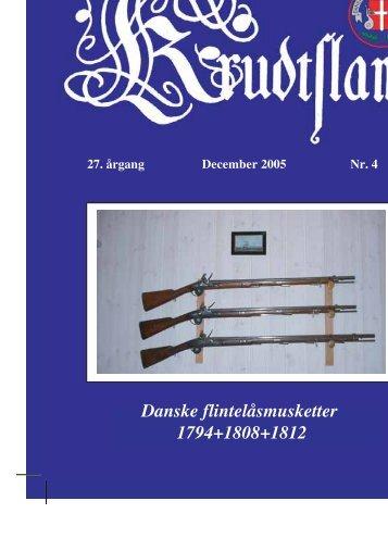 Krudtslam Nr.4-2005 - Forbundet Af Danske Sortkrudtskytteforeninger