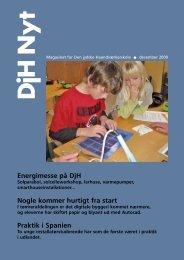 DjH Nyt #december 2009 - Den jydske Haandværkerskole