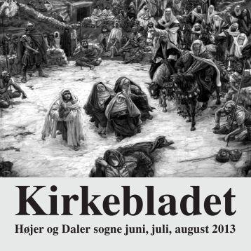 Kirkebladet juni, juli, august 2013