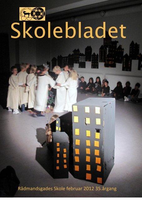 2012-02 Skolebladet februar 2012 - Rådmandsgades Skole