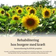 Rehabilitering hos borgere med kræft - Wildside
