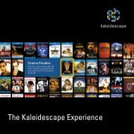 Kaleidescape - Eibner Nachrichtentechnik - Audio - Video - Digital
