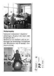 Læs Roeren fra januar 2010 - Roskilde Roklub