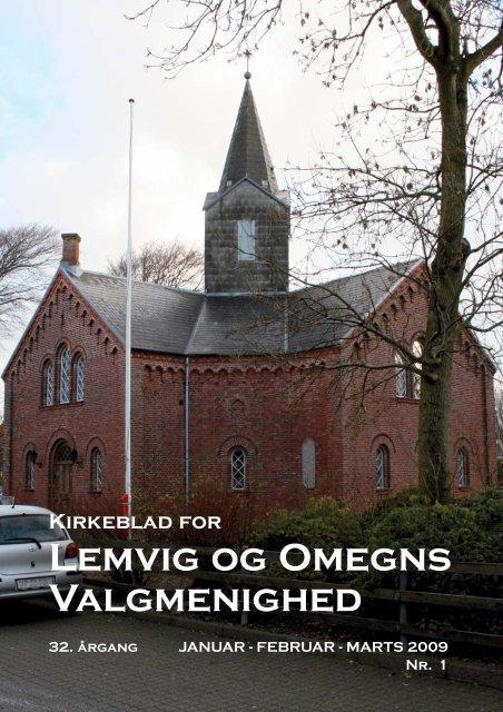 Nr.1 2009 Januar Februar Marts - Lemvig og Omegns Valgmenighed