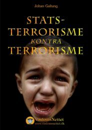 STATSTERRORISME kontra TERRORISME - Johan ... - Visdomsnettet