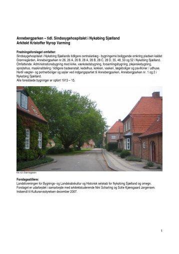 Annebergparken - Landsforeningen for bygnings- og landskabskultur