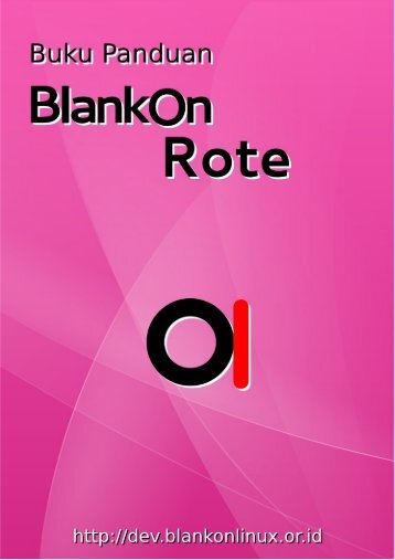 Dokumentasi BlankOn 8 (Rote)