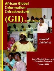 African Global Information Infrastructure - Kambing UI