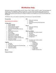 WinWarbler Help - Kambing UI