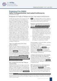 Støttemuligheder til folkepensionister (PDF) - DUKH