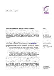 Regeringens skattereform - Forsikring & Pension