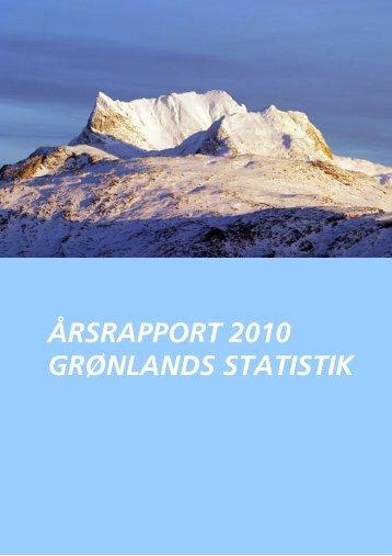 Årsrapport 2010.pdf - Grønlands Statistik