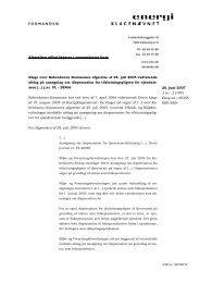 2007.06.26 Klager ctr. Københavns kommune Vedr. Klage over ...