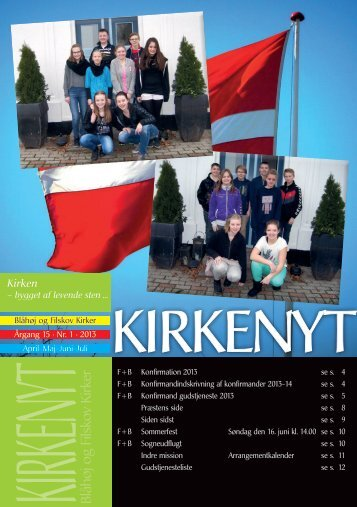 Kirkenyt nr. 1 2013 - Filskov
