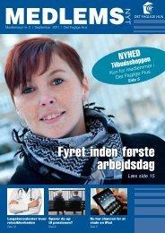 Medlemsnyt 3/2011 - Det Faglige Hus