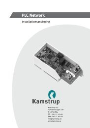 PLC Network - Kamstrup