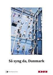 På rundtur i den danske sangs skatkammer - Skoletjenesten