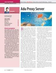 Adu Proxy Server INDEKS - Bebas