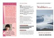 læs og download den lille folder om vores arbejde. - Wolthers Consult