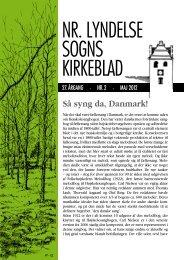 NR. LYNDELSE SOGNS KIRKEBLAD - Nørre Lyndelse Kirke