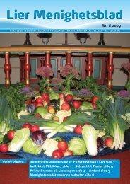 Nr. 8 2009 - Menighetsbladet