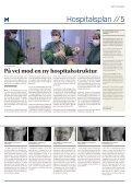 Konturerne af en ny hospitalsplan tegner sig - Kong Kuglepen - Page 5