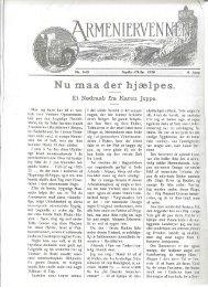 ArmenierVennen sept-okt /1926