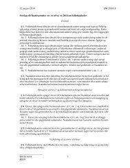 EM 2010/18 3 KIIIN Forslag til: Inatsisartutlov nr. xx af xx. xx 2010 om ...