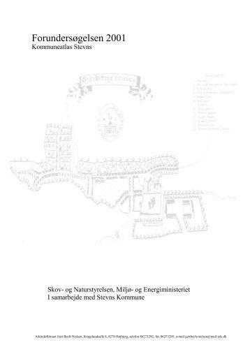 Forundersøgelsen - Kommuneatlas Stevns 2002 - Stevns Kommune