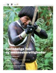 Oprindelige folk og menneskerettigheder - Verdens Skove
