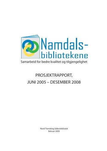 Namdalsbibliotekenes prosjektrapport