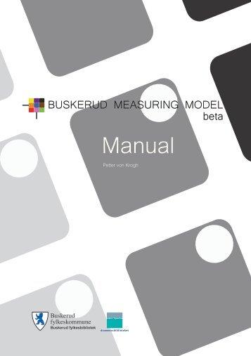 Manual - Buskerud fylkesbibliotek