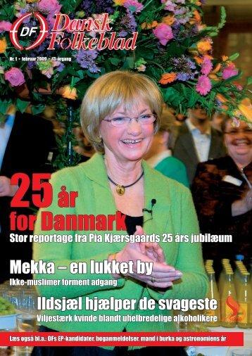25år for Danmark - Dansk Folkeparti
