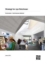 Strategi for nye Deichman - blogg - Deichmanske bibliotek