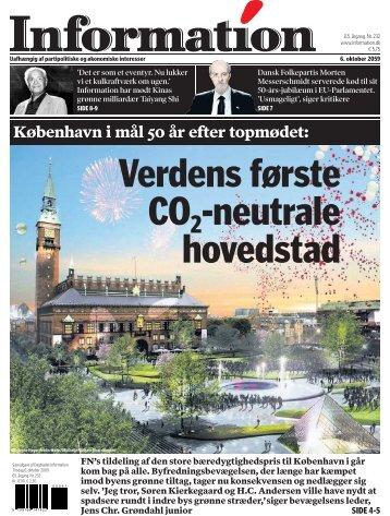 København i mål 50 år efter topmødet: - Information