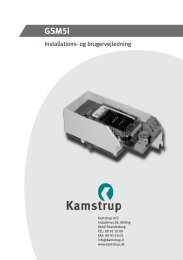 5512-279 DK Rev. A3.indd - Kamstrup