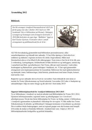 Gratangen folkebibliotek - Troms fylkeskommune