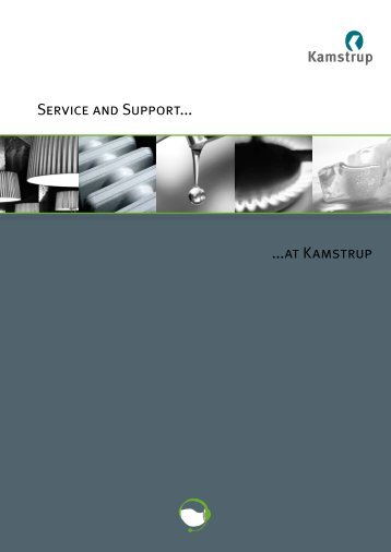 Download the Service & Support brochure - Kamstrup
